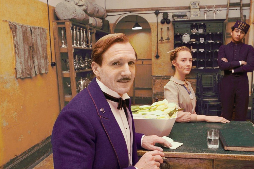 Ralph Fiennes as Gustave H. in The Grand Budapest Hotel (2014)