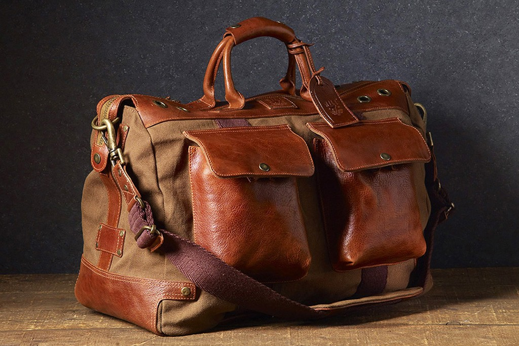 A look from the Will Leather Goods line.
