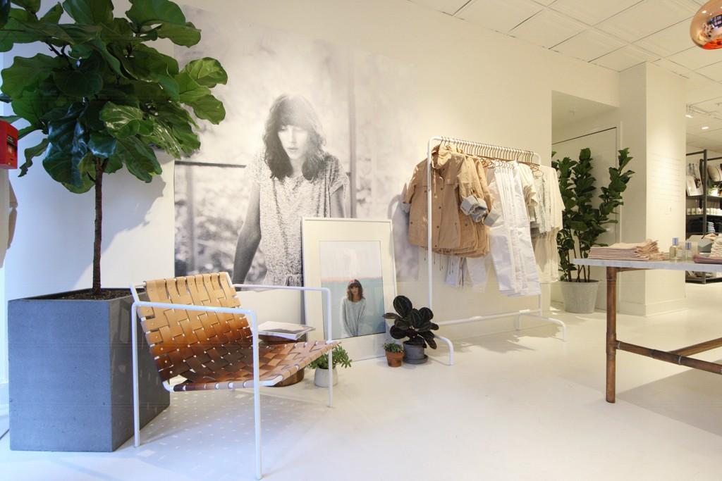 Inside the Lou & Grey store in Westport, Ct.