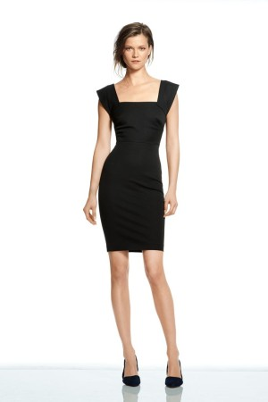A look from Roland Mouret for Banana Republic line.
