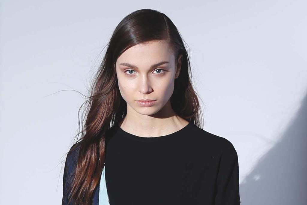 BCBG Max Azria's strong silhouettes and graphic elements offer serious edge for fall '14.