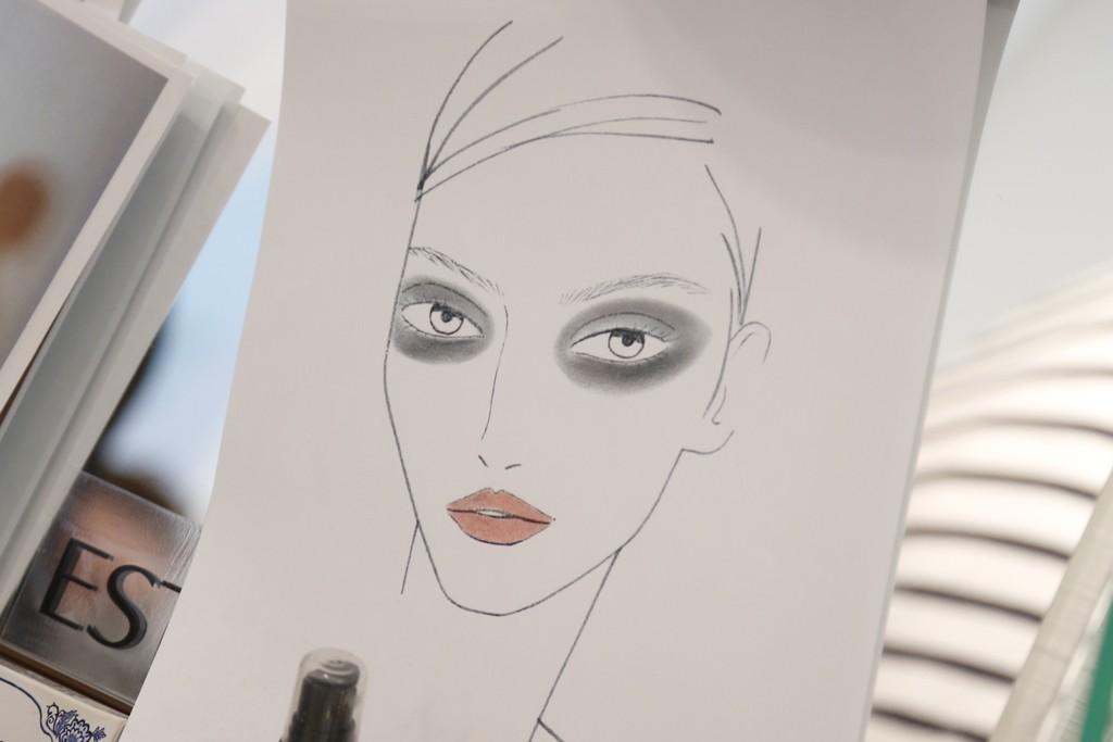 Tom Pecheux's makeup kit for Derek Lam.