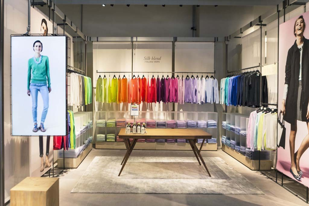 """""""We had a Ferrari, it just needed to be driven."""" — Valentina Soster, creative director of Benetton, on the company's restyled women's collections."""