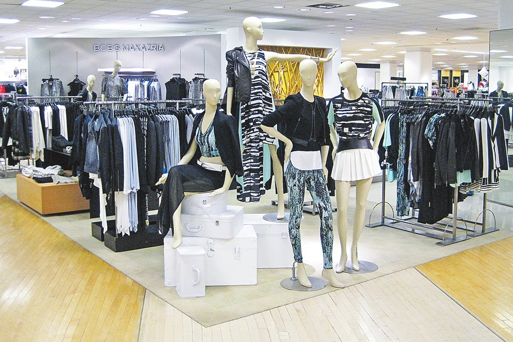 An in-store shop at Bloomingdale's.