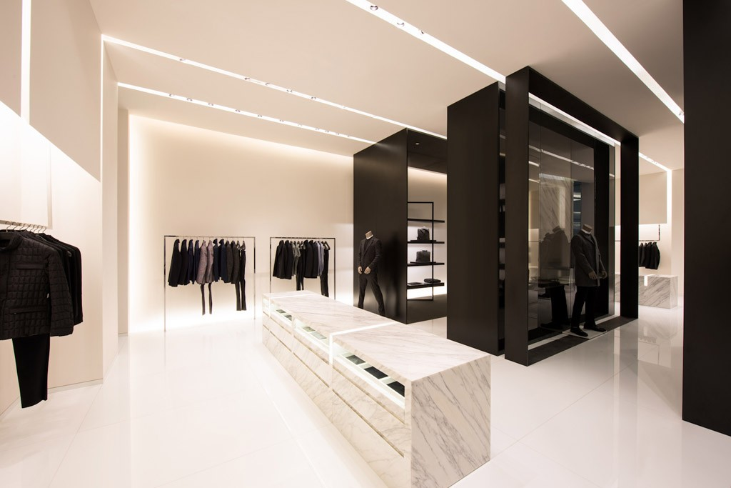 The Shenyang's interior concept informed the Calvin Klein openings in Asia.