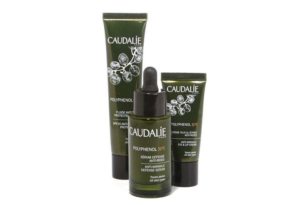 The Caudalie antioxidation and antiaging trio.