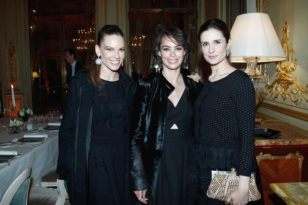 Hilary Swank, Bérénice Bejo and Livia Firth.