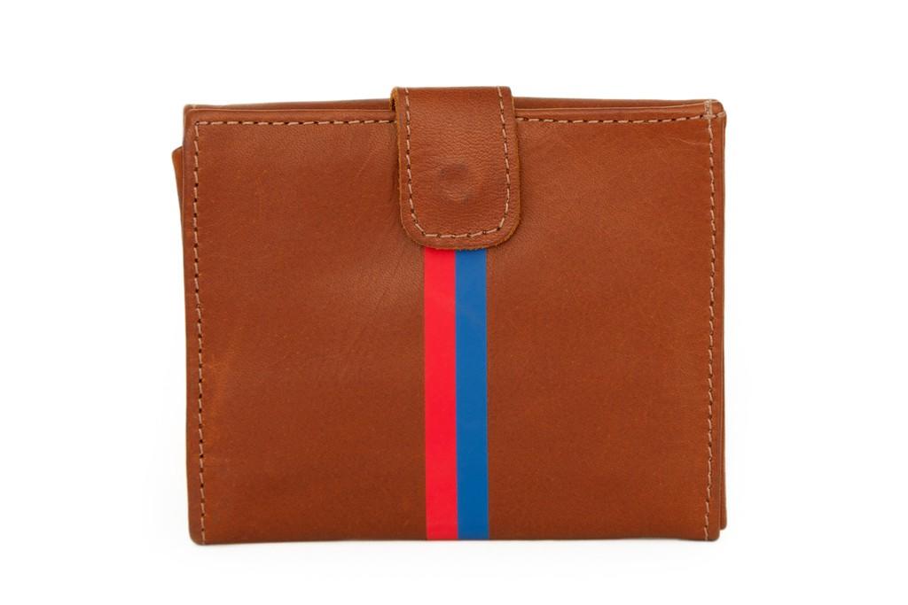 A Clare Vivier wallet.