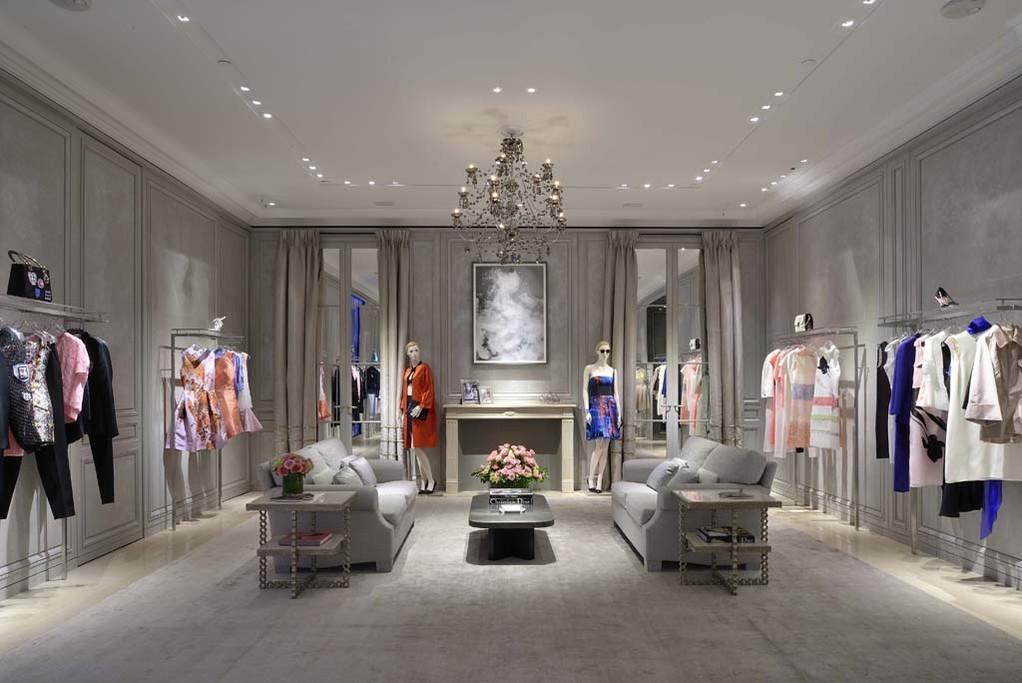 The Dior unit at the Bellagio.