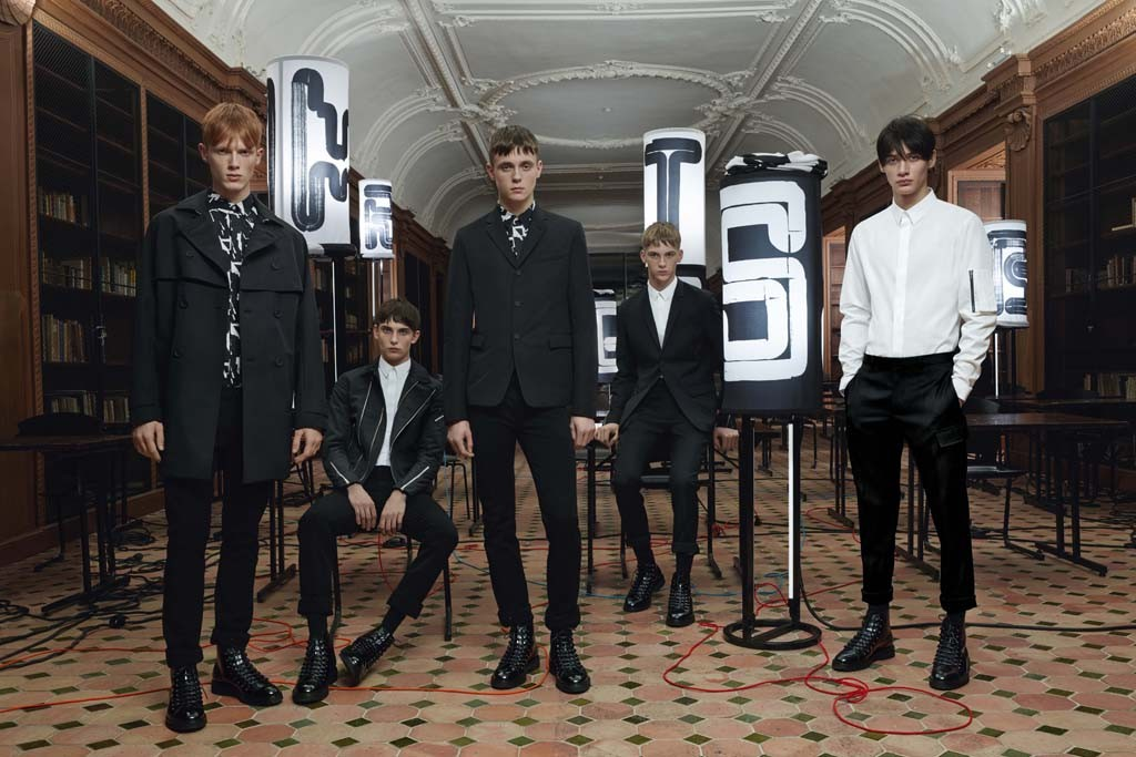 An image from Dior Homme's autumn catalogue.