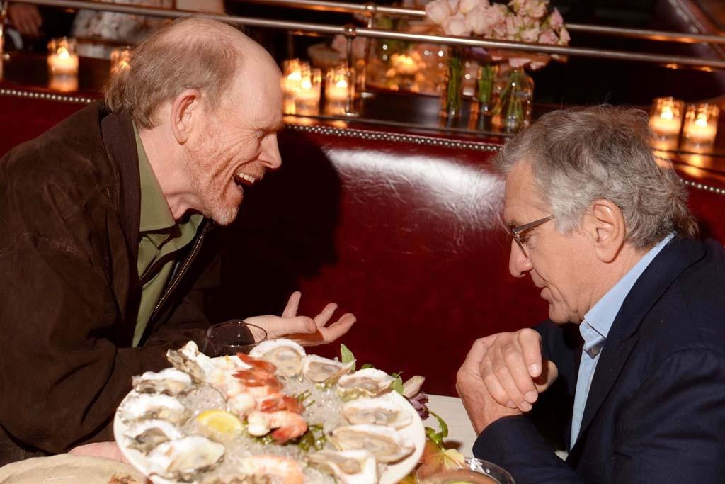 Ron Howard and Robert De Niro