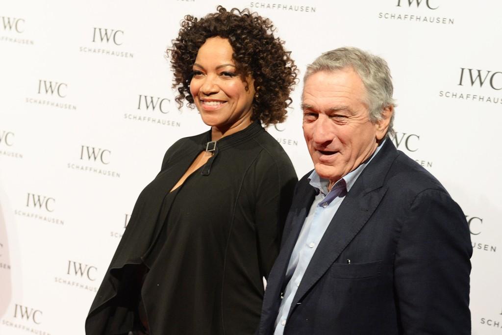 Robert De Niro with wife, Grace Hightower