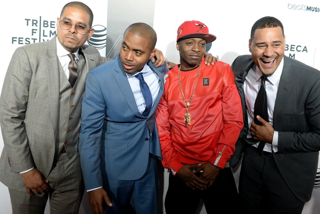 One9, Nas, Jungle and Erik Parker.