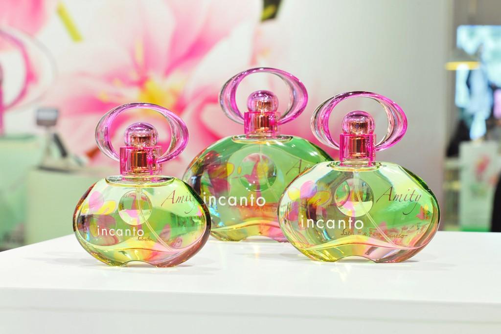 Ferragamo's Incanto Amity fragrance.