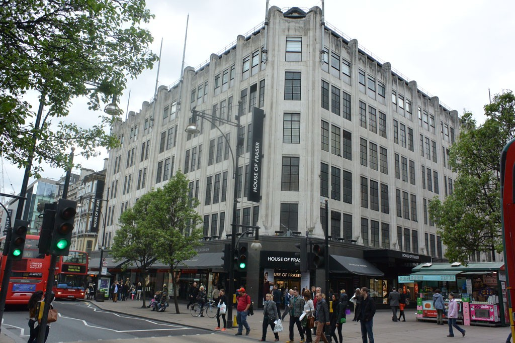 House of Fraser will be sold to a Sanpower Group subsidiary.