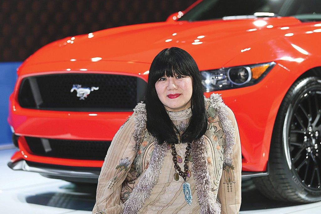 Anna Sui will design Mustang-inspired items.