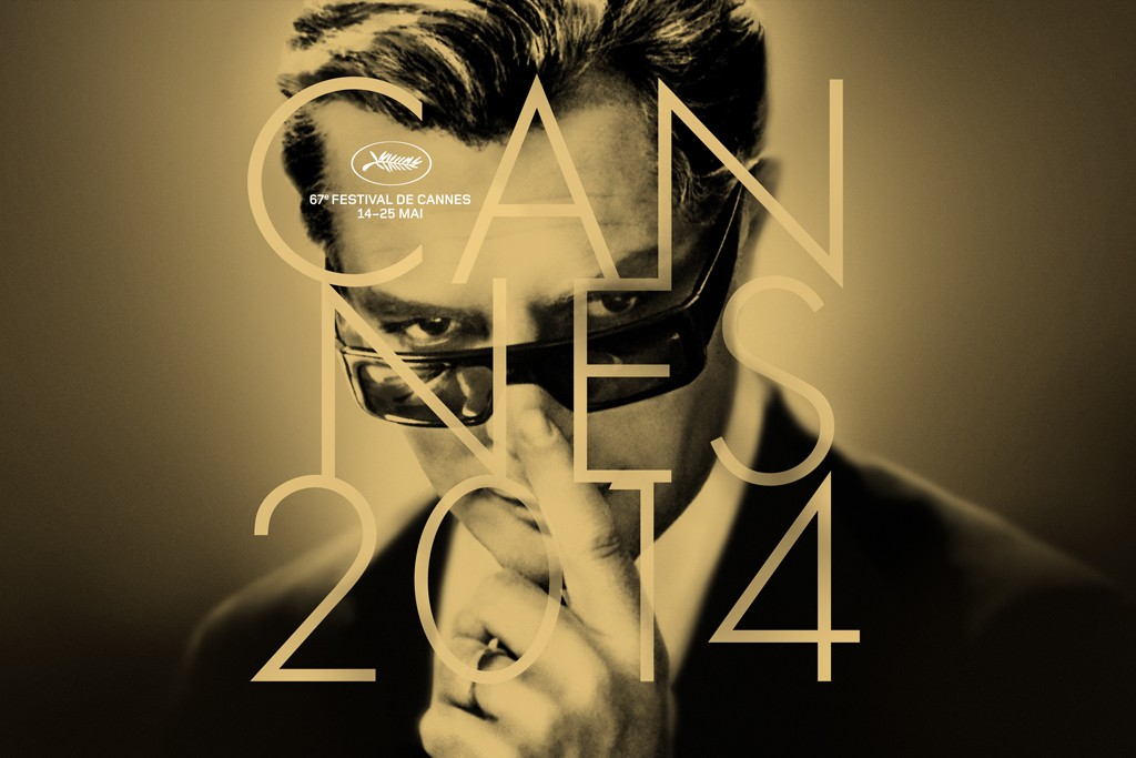 Marcello Mastroianni on this year's official Cannes Film Festival poster.