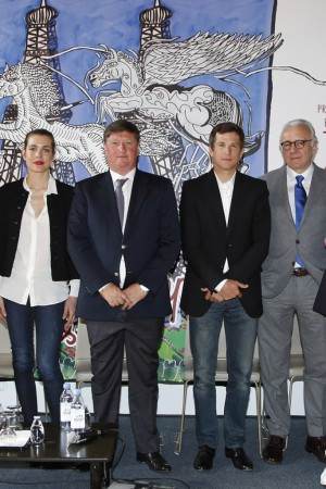 Charlotte Casiraghi, Jan Tops, Guillaume Canet and Alain Ducasse.