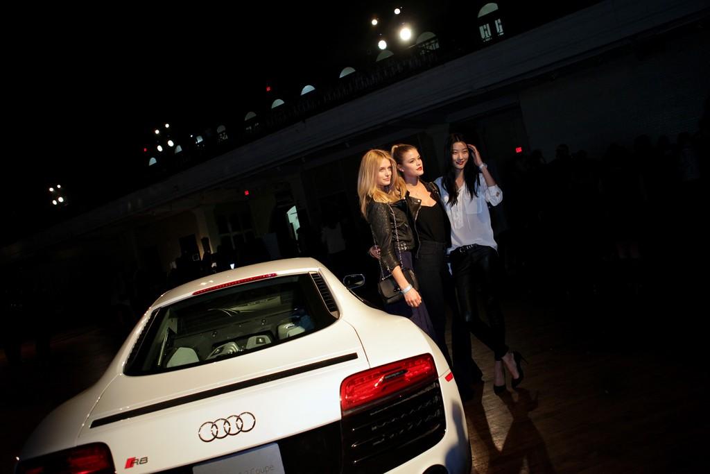 Kate Bock, Nina Agdal and Ji Hye.
