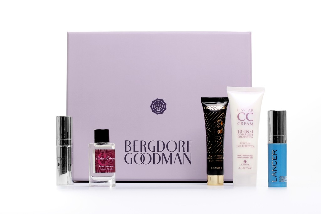 Glossybox's collaboration with Bergdorf Goodman.