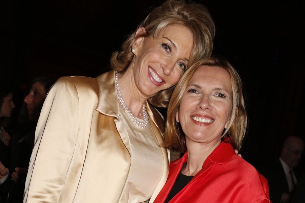 Karen Murray with Liz Rodbell