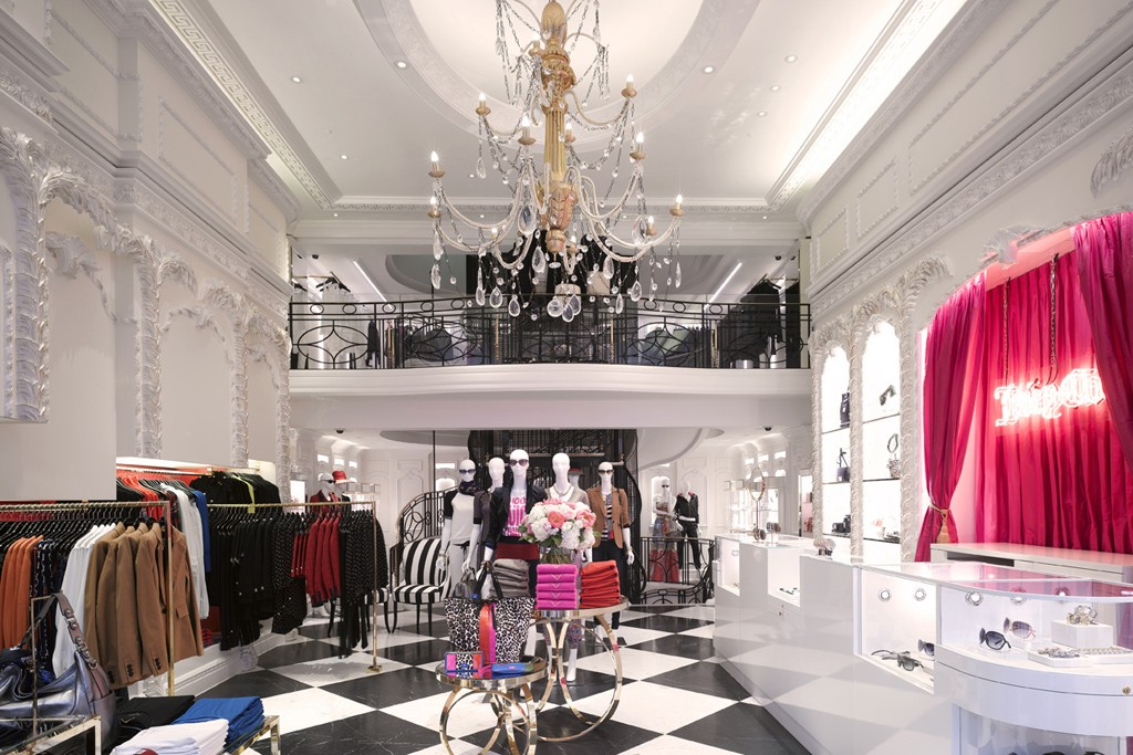 The Juicy Couture Regent Street flagship in the U.K.