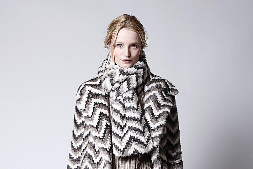 Michael Kors Fur Fall 2014
