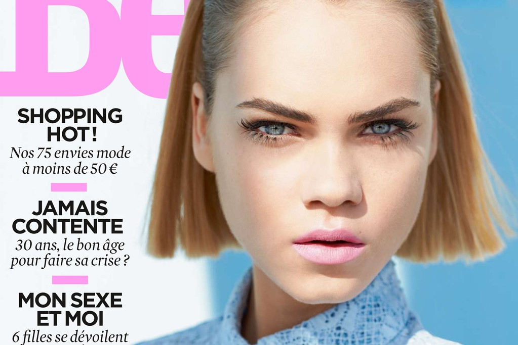 The cover of the May issue of Be.