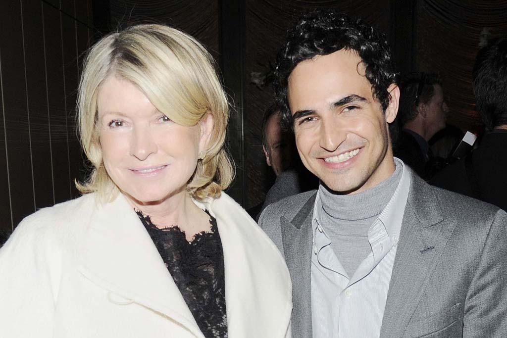 Martha Stewart and Zac Posen