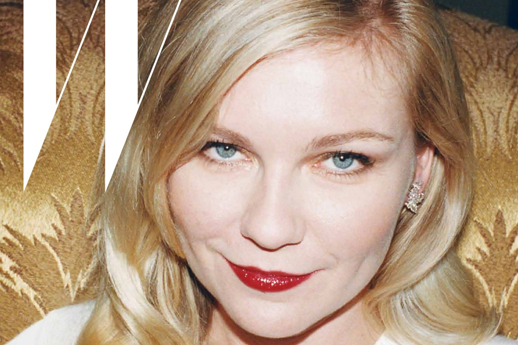 Kristen Dunst on the cover of Coppola's guest edited W.