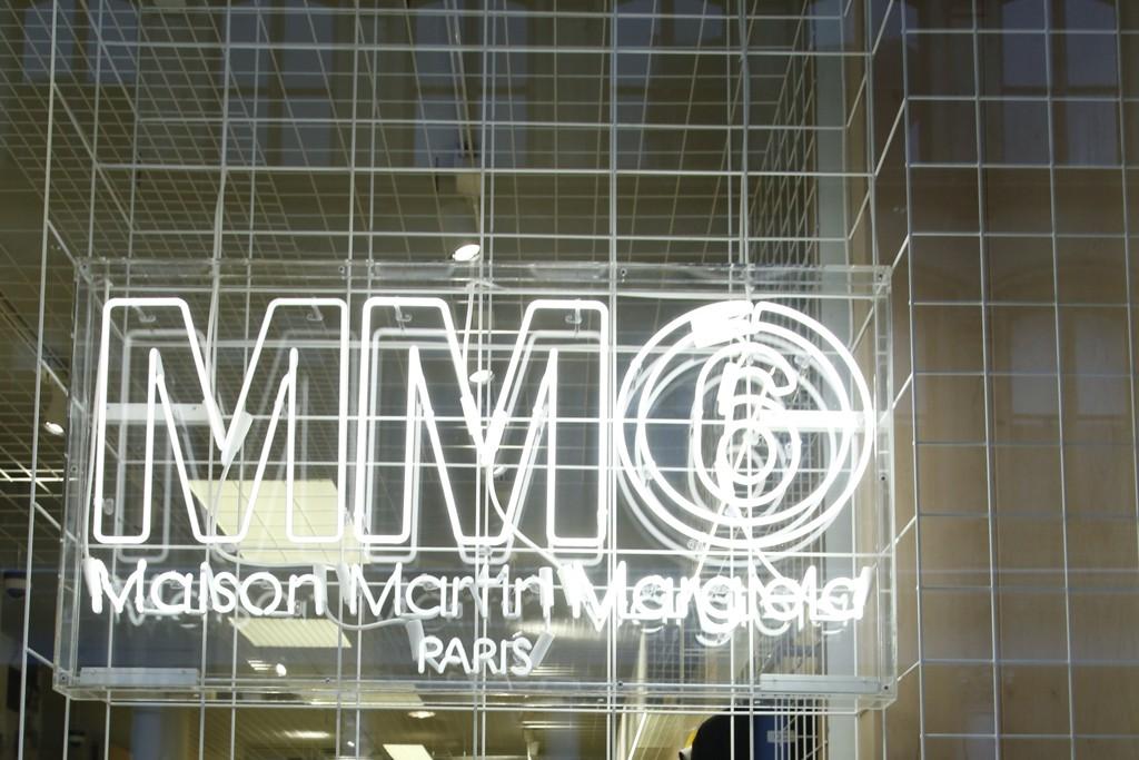 The MM6 Maison Martin Margiela store in SoHo.