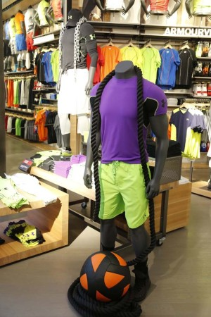 Under Armour is expanding its product assortment.