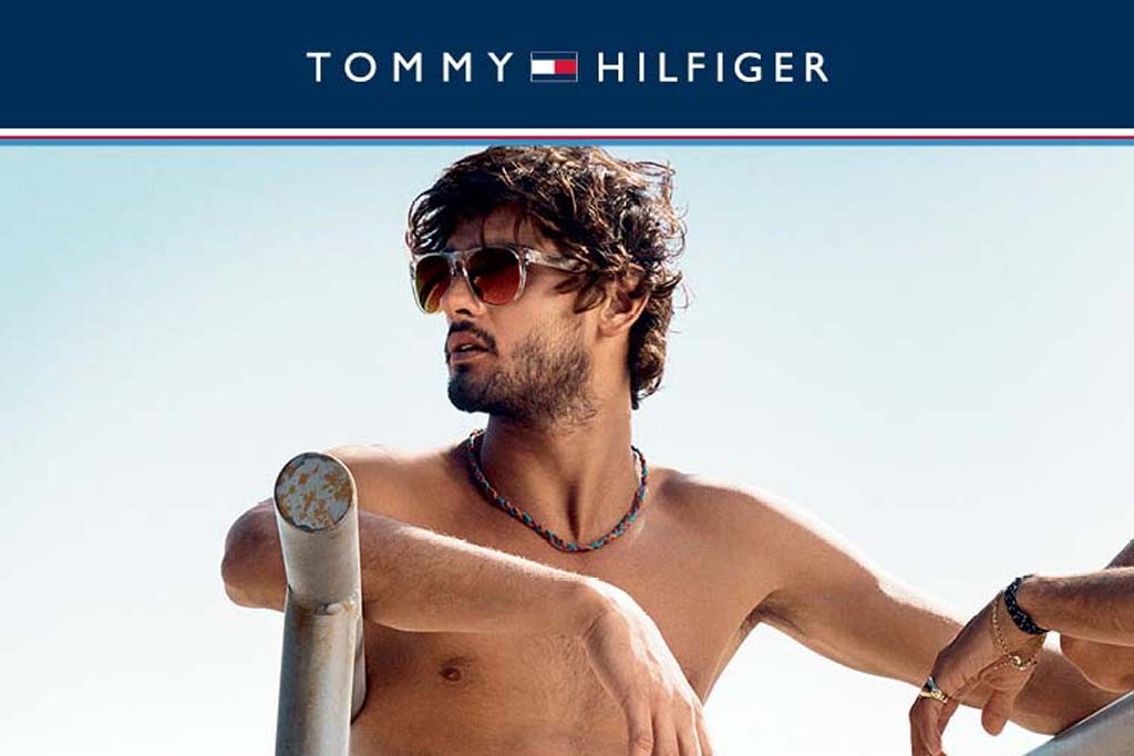A look from Tommy Hilfiger.