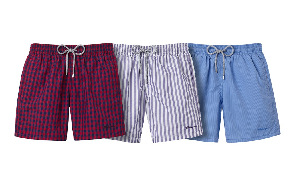 Swim trunks from Vilebrequin's spring 2014 collection.