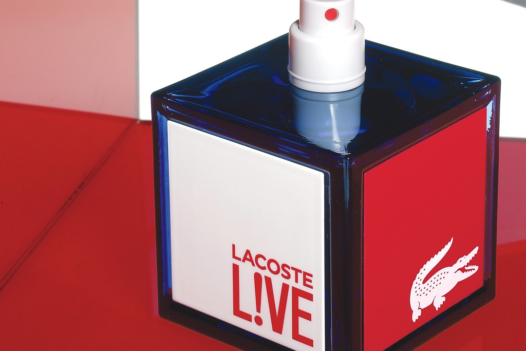 Lacoste's Live fragrance