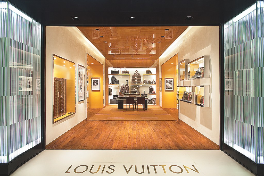 Louis Vuitton helped the group's fashion and leather goods division climb 11 percent in the quarter.