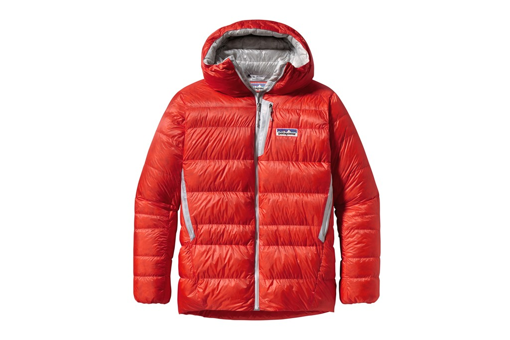 Patagonia's Encapsil down parka developed in its R&D division called the Forge.
