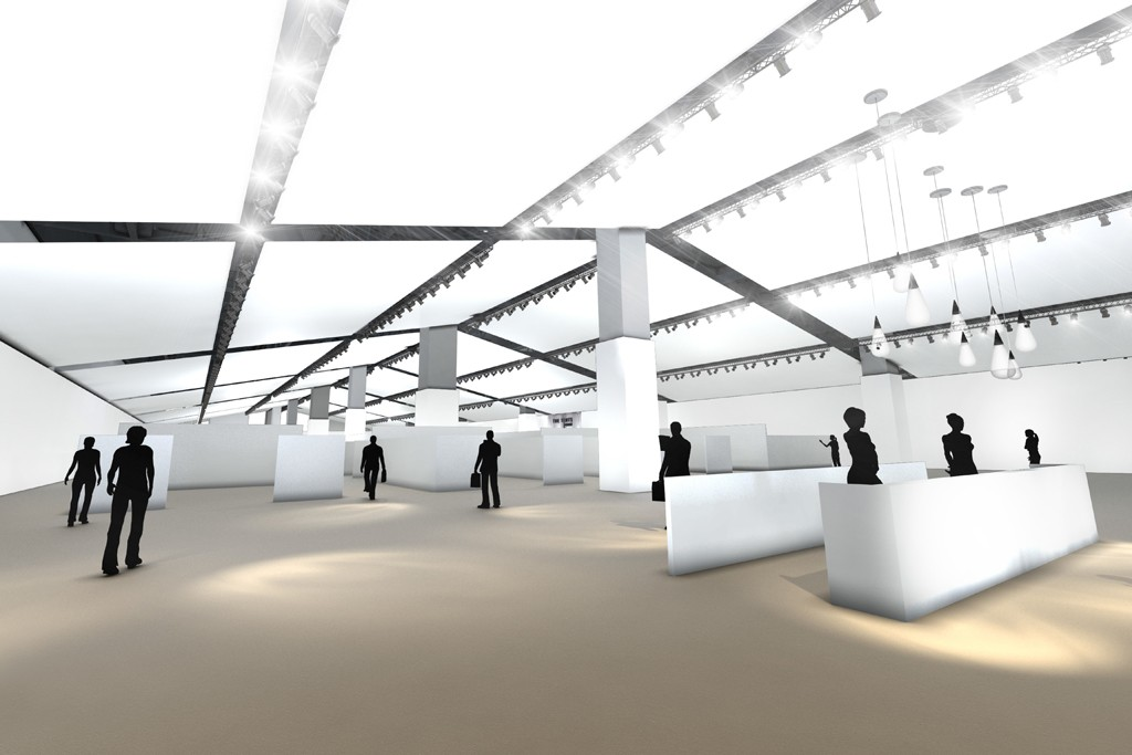 A rendering of the Tents at Project.