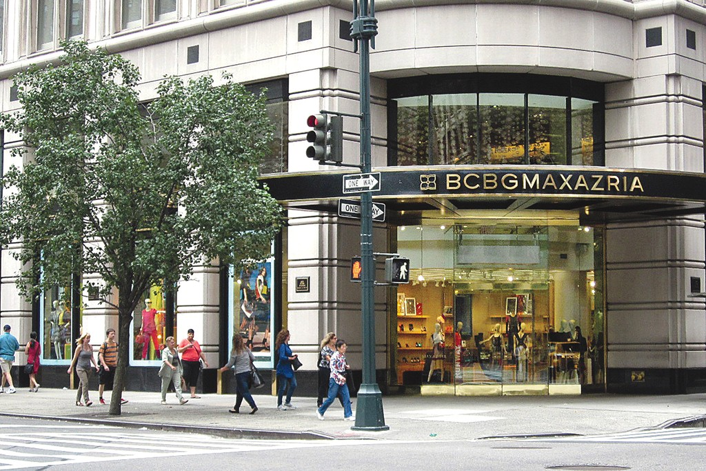 BCBG Max Azria Group has 500 stores worldwide.
