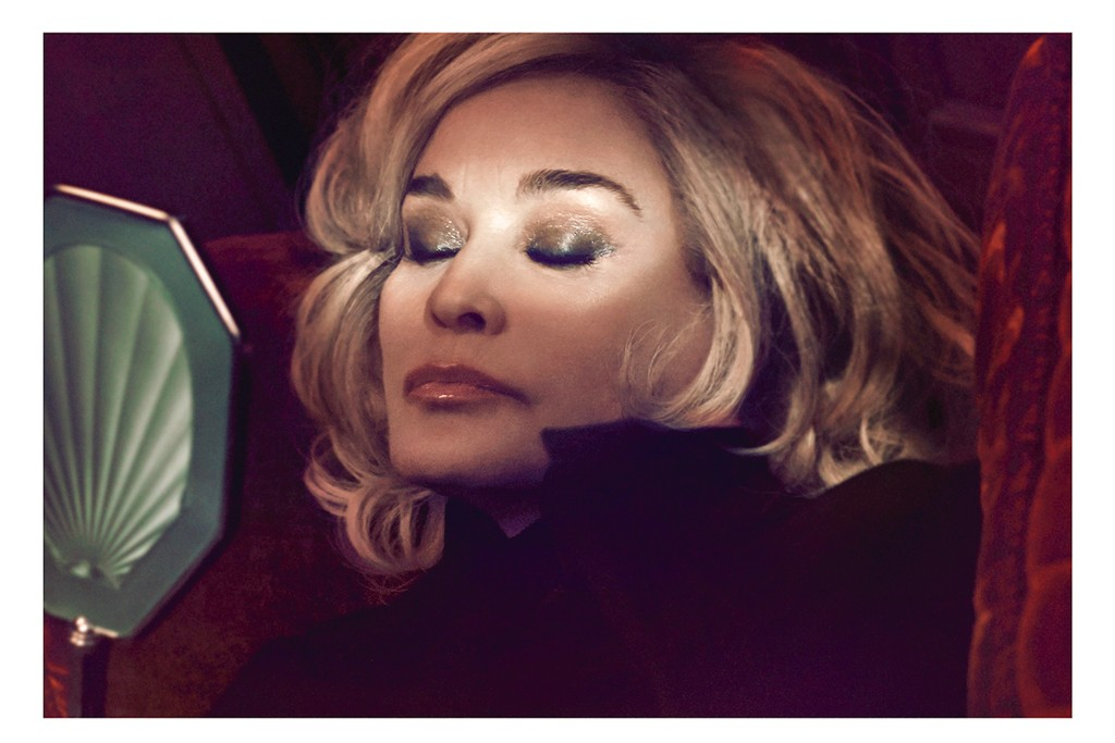 Jessica Lange in the Marc Jacobs Beauty campaign.