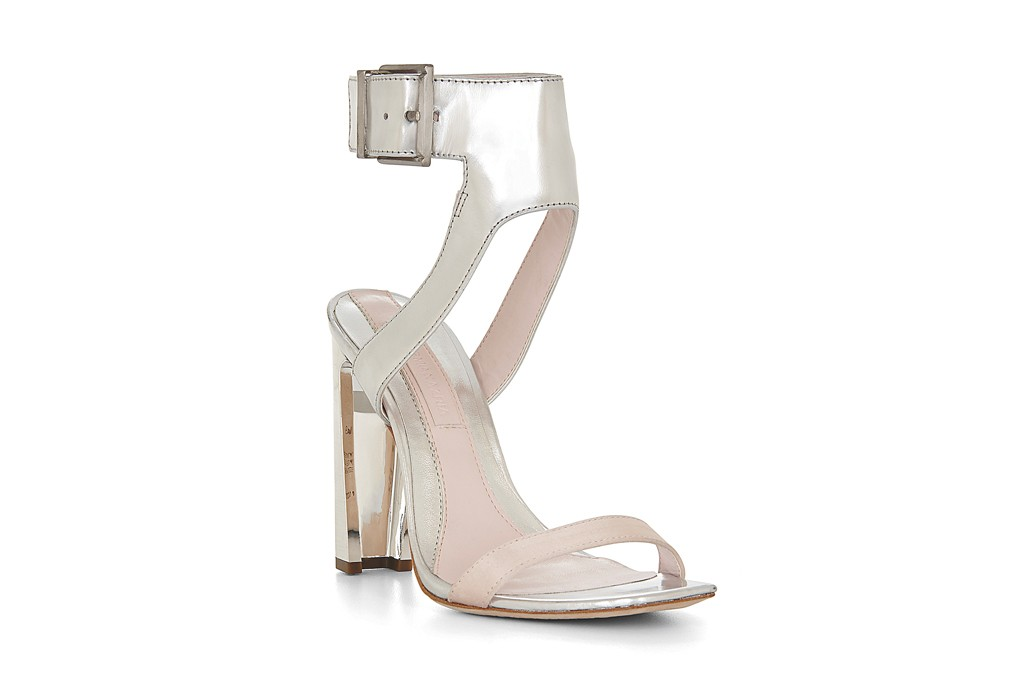 A shoe from BCBG's 25th anniversary collection.