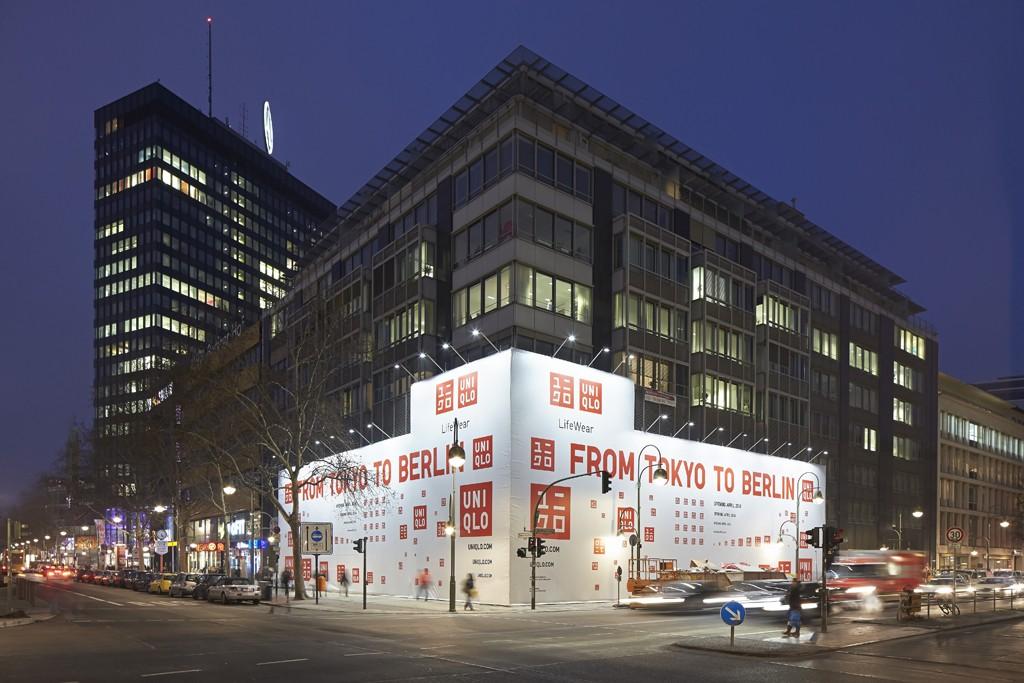 The Uniqlo store in Berlin.