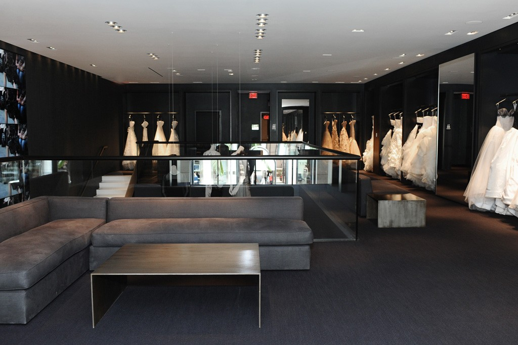 The Vera Wang store on Rodeo Drive.