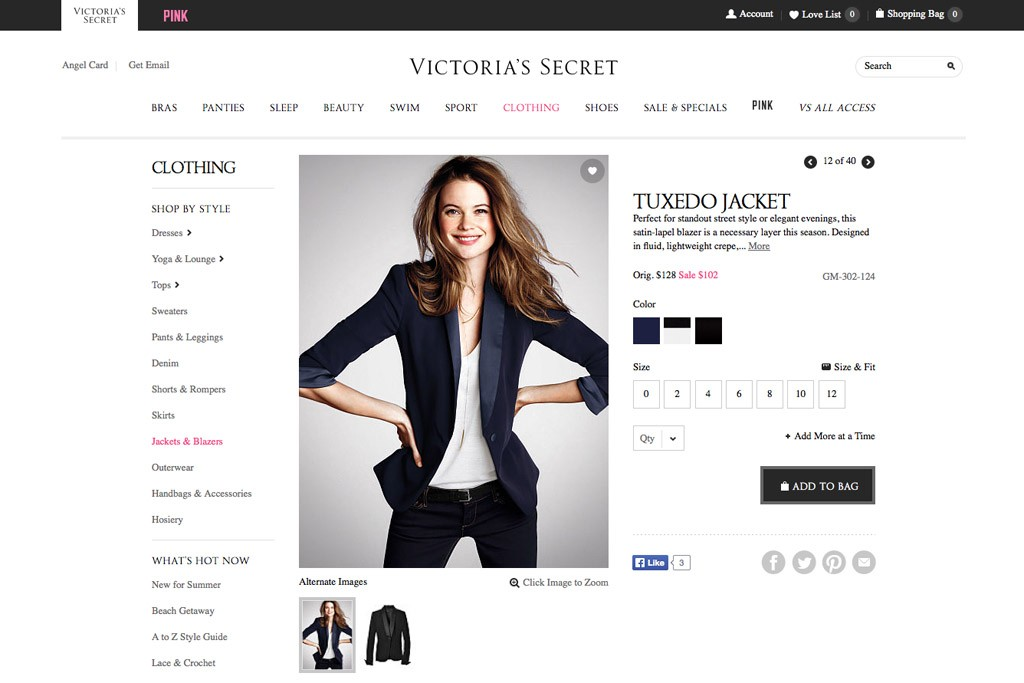 Victoria's Secret is reducing its woven, outerwear, denim and dress offerings.