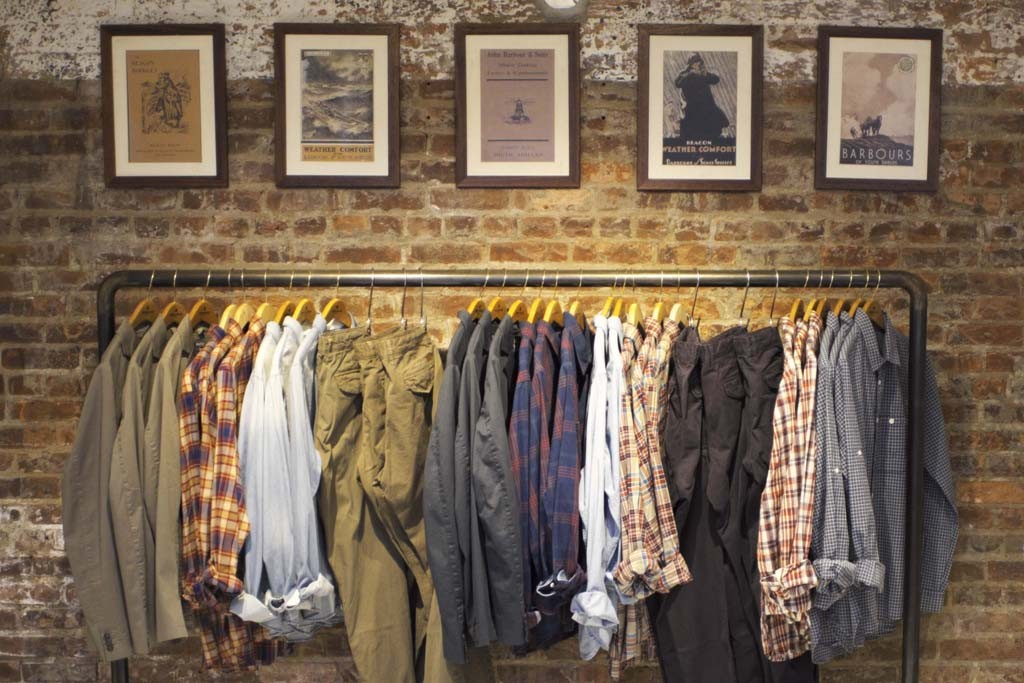 Inside WP Lavori's flagship store on Smith Street in Brooklyn.