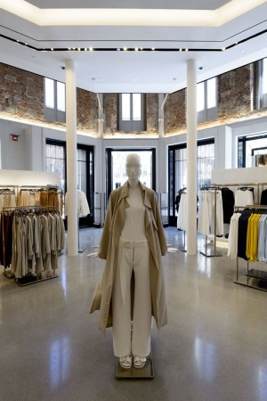 Inside the Zara Madrid store.