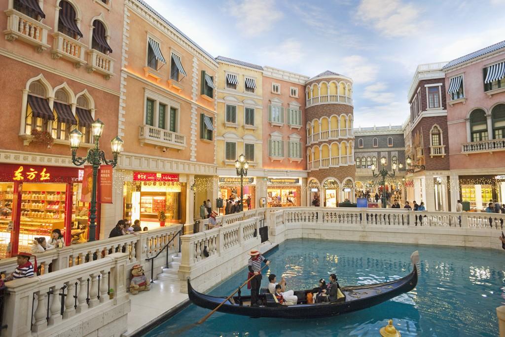 The Grand Canal Shoppes at The Venetian Macau.