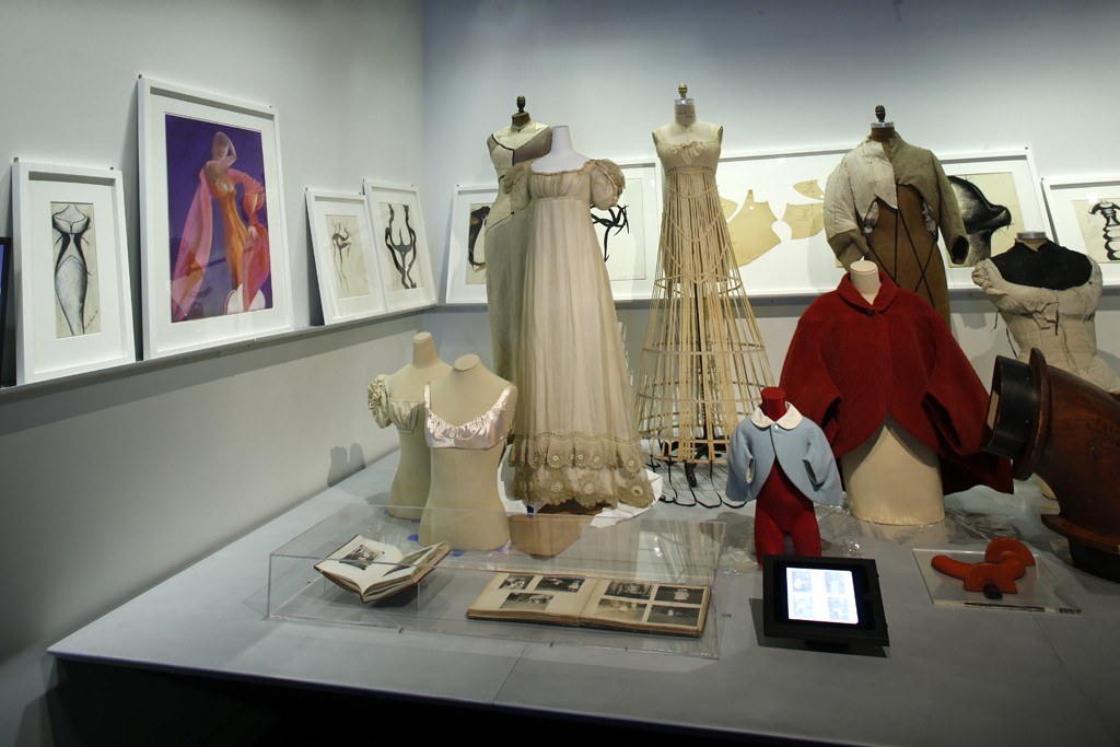 """A view of """"Charles James: Beyond Fashion."""""""