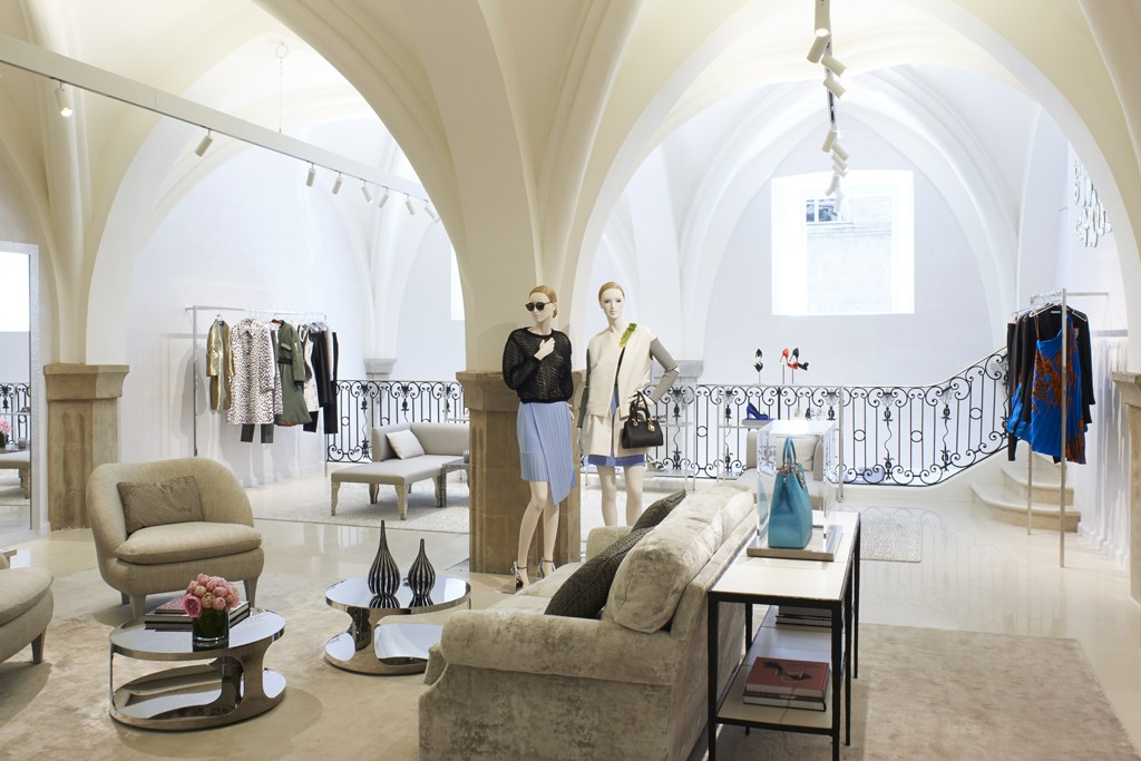 The Dior boutique in Florence.