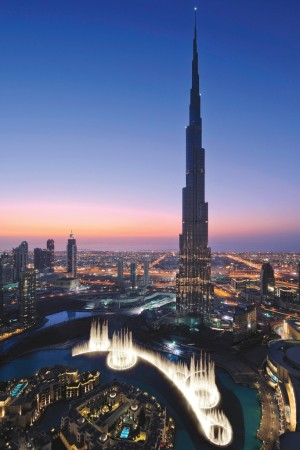 The Burj Khalifa in Dubai towers over the city, which Bain & Co. projects will see annual sales growth of 8 to 10 percent in the near term.